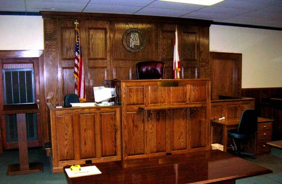 Winston County Courtroom